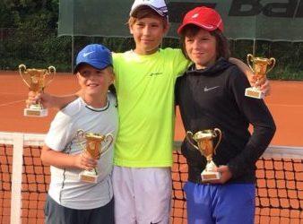 Vítězem turnaje ČTS ml.žáků v J.Hradci Nikolas Kříž a David Matoušek