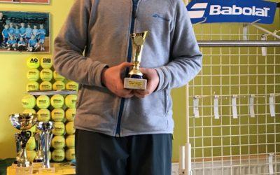 BABOLAT CUP 2018 Znojmo – David Matoušek v semifinále