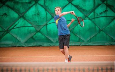 Vítek Bartušek v osmifinále turnaje dorostu